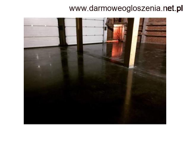 Posadzki przemysłowe / żywiczne / beton zacierany na gładko/szorstko / miksokret